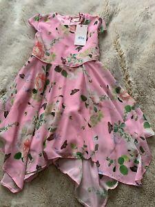 Girls Ted Baker Dress Age 4-5 Brand New