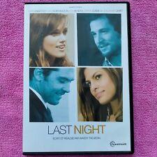 dvd film Last Night avec Keira Knightley et Guillaume Canet