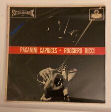 Ruggiero Ricci PAGANINI Caprices No.1-24 - London Records CS 6163  NICE!!