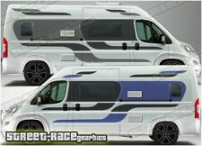 Motorhome Campervan 063 graphics stickers decal Fiat Ducato Citroen Relay Boxer
