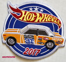 HOT WHEELS 2017 CONVENTION DATSUN BLUEBIRD 510 PATCH W+