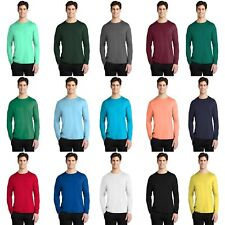 Men's Sport-Tek Posi-UV Pro Long Sleeve Tee Sun Protection T-Shirt UPF rating 50