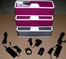 3x Yamaha PDX-50 iPhone iPad iPod Bass Lautsprecher BOX Stereo Sound Rosa Black