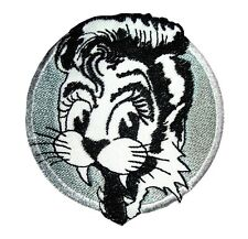 stray cats patch badge rockabilly hot rod retro pin up psychobilly iron on