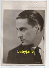 GEORGE METAXA ORIGINAL 8X11 KEYBOOK PHOTO HANDSOME 1930's PARAMOUNT PORTRAIT