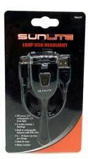Sunlite Loop Bicycle Front Light HL-L206 2-Led USB 20 Lumen