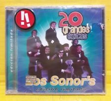 Los Sonor's - 20 Grandes Exitos - CD Brand New Sealed - Mexico Import