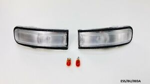 2 x Outside Mirror Indicator Lamp for Jeep Renegade 2015-2020 ESS/BU/003A