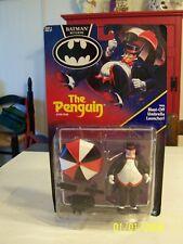 BATMAN RETURNS THE PENGUIN Action Figure BATMAN 1991 Blast Off Umbrella NEW!