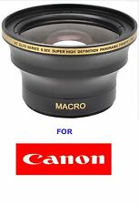 52MM ULTRA WIDE ANGLE LENS .X30 FOR Canon EF 50mm f/1.8 II TURNS 50MM TO 16MM