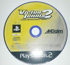 VIRTUA TENNIS 2 - PlayStation 2 PS2 Play Station Game Bambini Gioco