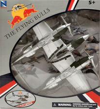 """Aereo P-38 """"LIGHTNING"""" THE FLYING BULLS Red Bull 1:48 Model 21253 NEW RAY"""