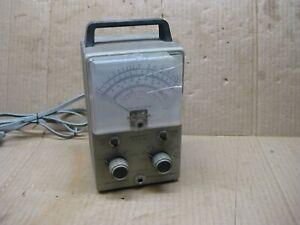 Vintage Heathkit IM-18 / VTVM Vacuum Tube Voltmeter - Untested Estate Find