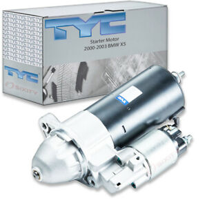 TYC Starter Motor for 2000-2003 BMW X5 4.4L 4.6L V8 Electrical Charging ay