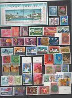 50 timbres de Suisse neufs ** + bloc feuillet 84