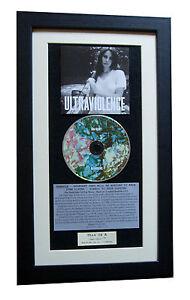 LANA DEL REY Ultraviolence CLASSIC CD Album TOP QUALITY FRAMED+FAST GLOBAL SHIP