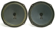 """PAIR of Vintage 1975 CTS 12"""" Woofers 137-7506 Speakers 8-OHM from FENDER BASSMAN"""