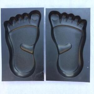 Footprint Stepping Stone Mold Concrete Cement Mould ABS Garden Path DIY