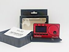 Kliq MetroPitch - Metronome Tuner for All Instruments - with Guitar, Bass