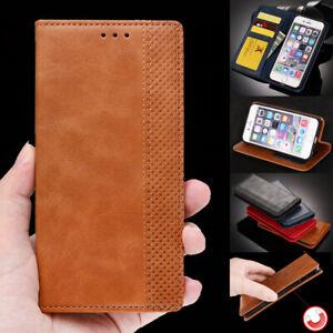 Magnetic Luxury Leather Card Wallet Flip Case Cover For Lenovo K6 K8 S1 K5