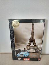 Eiffel Tower Jigsaw Puzzle Educa B&W Color 500 Piece New Free Shipping
