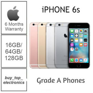 Apple iphone 6S 16/32/64/128GB AU STOCK UNLOCKED EXCELLENT CONDITION 6 MTHS WARR