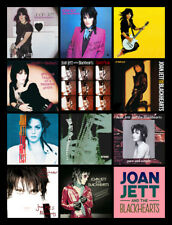 "JOAN JETT album discography magnet (4.5"" x 3.5"")"