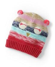 LANDS' END Youth XS/S Owl Critter Beanie Hat NWT $25