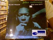 John Coltrane Blue Train LP sealed vinyl RE reissue Blue Note