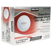 2021 KIRKLAND Signature V2.0 Three-Piece Urethane Cover 24 Golf Balls New in Box
