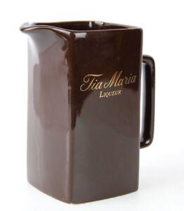 Brown Tia Maria Liqueur Water Jug by Wade PDM, England - Brand New - Pub-ware