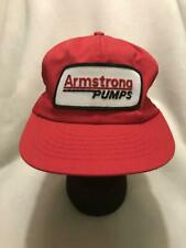 Vintage Armstrong Pumps Patch Snapback Hat Cap Swingster Made in USA