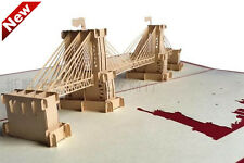 3D Kirigami & Origami Pop-Up Cards- US Brooklyn Bridge buy 3+1