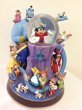 Disney Wonderful World Of Disney Snowglobe-New