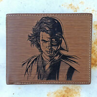 Star Wars, Anakin Skywalker, Darth Vader, Wallet Laser Engraved Bifold Gift