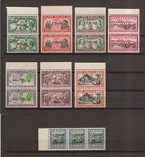 """NEW ZEALAND 1940 SG O141a/O149a """"ff joined"""" with normal MNH Cat £587"""