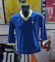 Maillot jersey shirt maglia camiseta bresil brazil brasil ronaldo neymar pele S