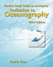 Invitation to Oceanography: Student Study Guide, Pinet, Paul R., New Book