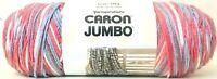 1 Count Yarnspirations 12 Oz Caron Jumbo 09035 Blue Plum 4 Medium Acrylic Yarn