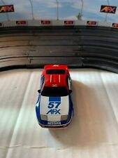 Tomy Afx Aurora Bdr #57 Afx Sponsored Nissan W/ Bull Dog Racing Chassis Slot Car