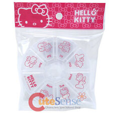 Sanrio Hello Kitty Pill Organizer  Weekly Pill Reminder