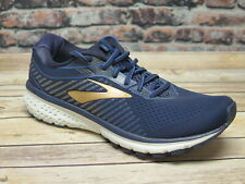 Men's Brooks Ghost 12 Navy/Gold Running Shoe  *110316489