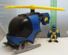 Imaginext Batman & Batcopter DC Super Friends Mattel 2008 Used Loose