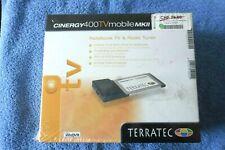 TERRATEC CINERGY 400 TV MOBILE MKII Radio Karte Analoge Video NOTEBOOK TV Tuner
