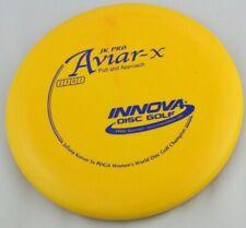 New Jk Pro Aviar-X 168g Putter Yellow Innova Disc Golf at Celestial Discs