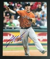 MATT DOMINGUEZ MLB Houston Astros Baseball Auto Autographed Signed 8x10 Photo