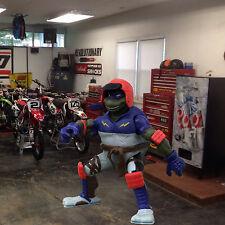 2003 TMNT Extreme BMX Riding Turtle  BIKER DON action figure toy