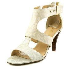 Sandalias y chanclas de mujer de color principal beige sintético talla 41