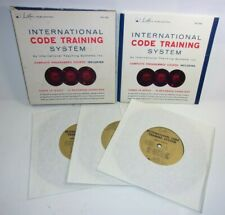 International Morse Code Training System Course Record Set T*