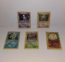 Pokemon Karten Sammlung Holos 1. Edition - Vintage Selten